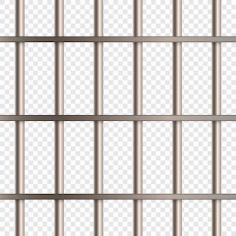 Barre della cella di prigione
