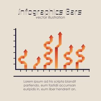 Barre di infografica