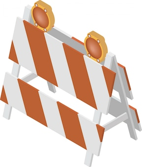 Barriera in costruzione