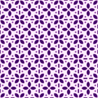Batik geometrico seamless pattern pattern di sfondo. carta da parati classica in tessuto. elegante decorazione etnica