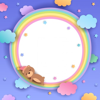 Bear-arcobaleno-frame