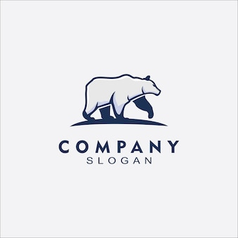 Bear logo for business