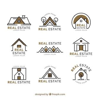 Bei loghi immobiliari