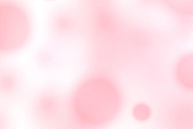 Bel design morbido con sfocatura rosa bokeh