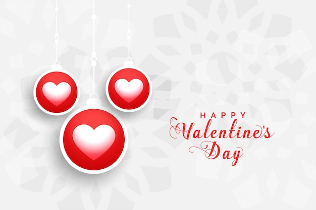Bella cartolina d'auguri di san valentino