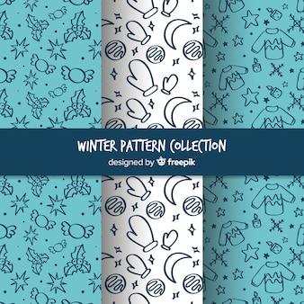 Bella collezione di modelli invernali