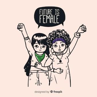 Bella composizione del femminismo