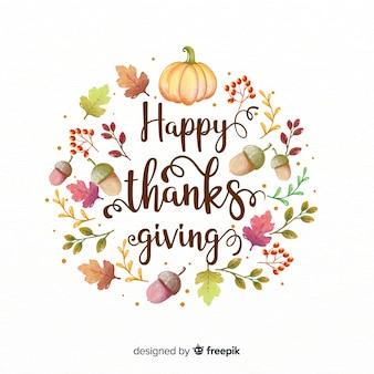 Bella composizione del giorno del ringraziamento