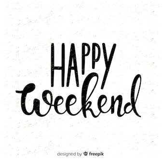 Bella composizione happy weekend