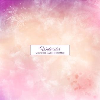 Bella priorità bassa dell'acquerello di colore pastello handmade viola