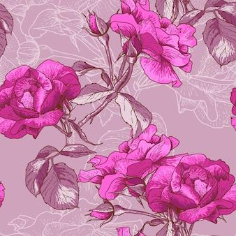 Bella rosa senza soluzione di continuità
