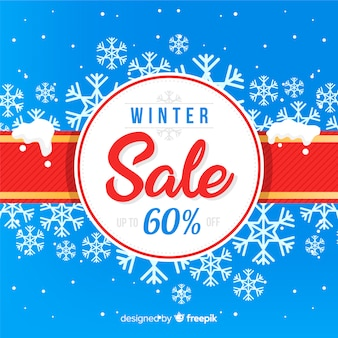 Bella vendita invernale compositio