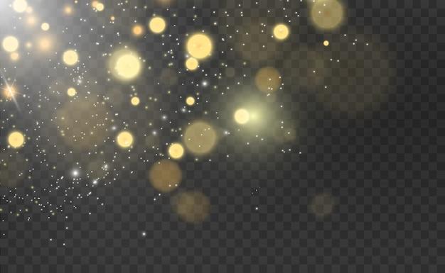Belle scintille brillano di luce speciale
