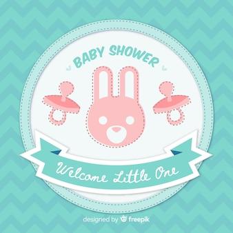 Bellissimo disegno della doccia per bambini