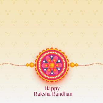 Bellissimo festival di raksha bandhan