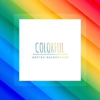 Bellissimo sfondo colorato