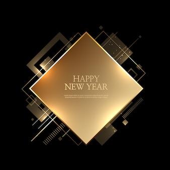 Bellissimo sfondo di felice anno nuovo