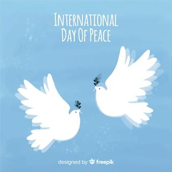 Bellissimo sfondo di giorno della pace