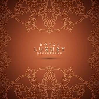 Bellissimo sfondo elegante di lusso marrone
