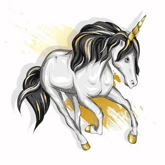 Bellissimo unicorno.