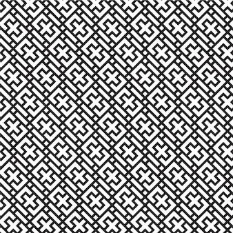 Bello e unico modello geometrico senza cuciture moderno