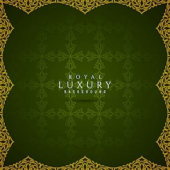 Bello fondo di lusso verde astratto