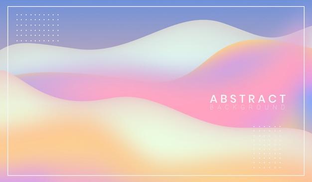 Bello fondo moderno astratto di forme ondulate