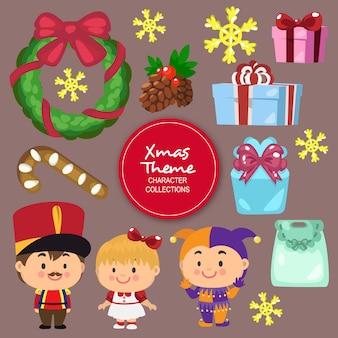 Ben personaggi natalizi invernali