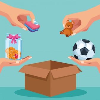 Beneficenza e donazione
