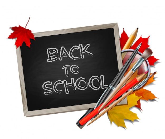 Bentornato a scuola. articoli ed elementi scolastici.