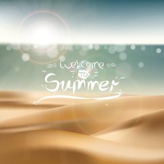 Benvenuta all 'estate