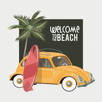 Benvenuti nella tessera estiva della spiaggia