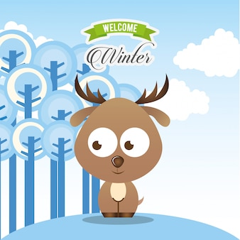 Benvenuto design invernale