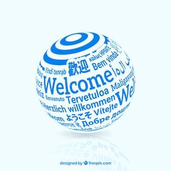 Benvenuto in diverse lingue