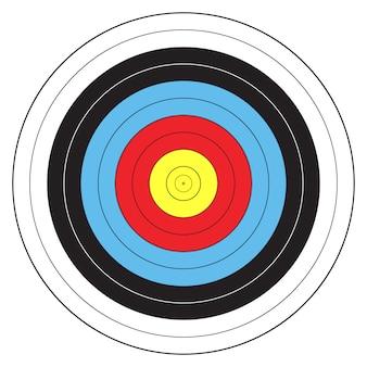 Bersaglio sportivo tiro con l'arco
