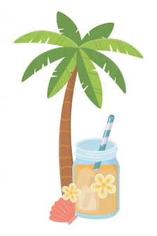 Bevanda con succo d'arancia