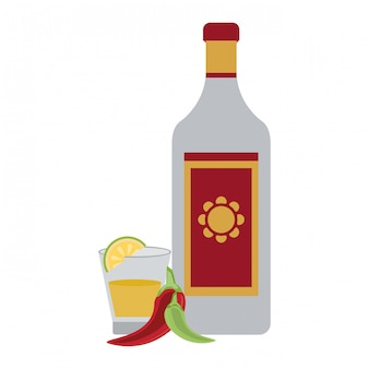 Bevanda messicana di tequila