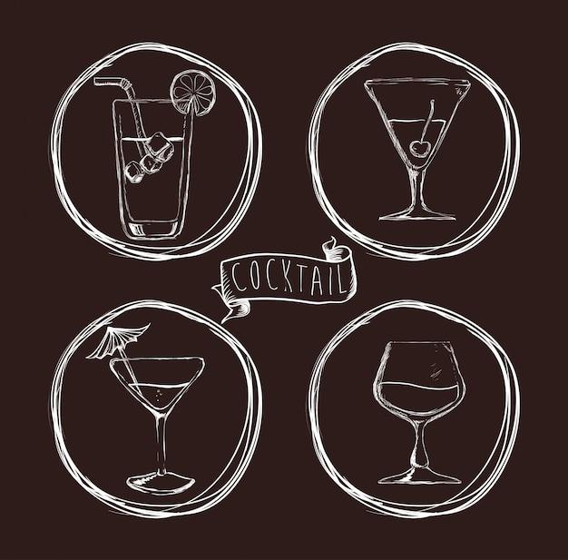 Bevi il design dell'icona