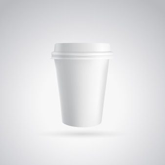 Bicchiere di carta da caffè.
