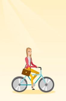 Bicicletta da equitazione donna