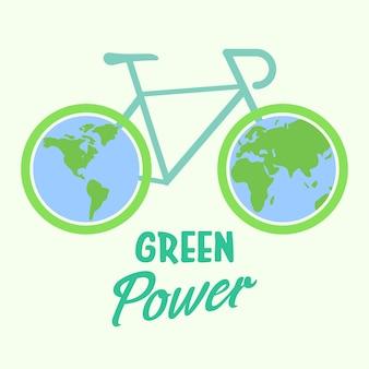 Bicicletta ecologica