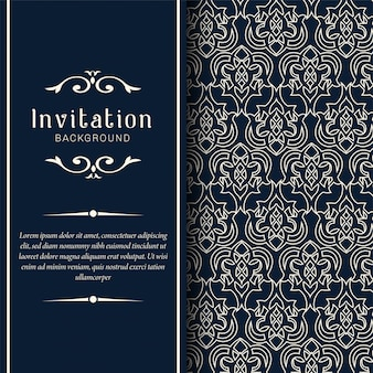 Biglietti d'invito di nozze decorativi