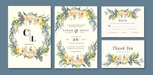 Biglietti d'invito di nozze