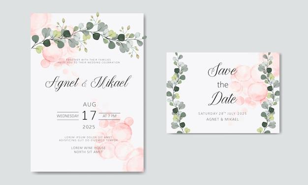 Biglietti d'invito matrimonio floreale belli ed eleganti