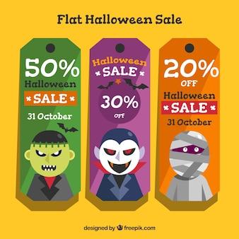 Biglietti di sconto di halloween
