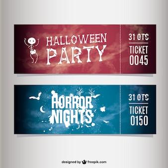 Biglietti festa di halloween