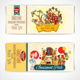 Biglietti per il parco divertimenti