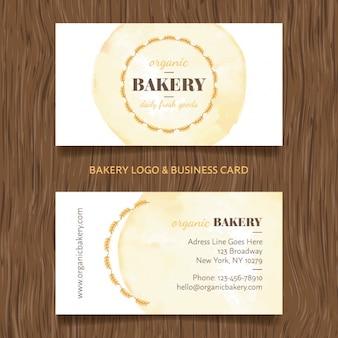Biglietto da visita bakery