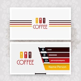 Biglietto da visita cafe