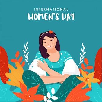 Biglietto di auguri per la giornata internazionale della donna